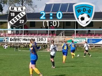 03.09.16 - WDB Damen II vs MTV Bokel